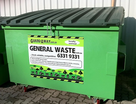 Frontlift Bins for Hire - GuardAway
